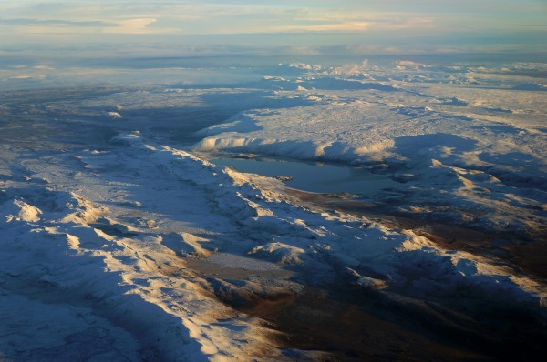 Die Weite Islands aus der Luft
