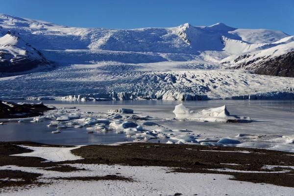 Eislagune am Vatnajökull