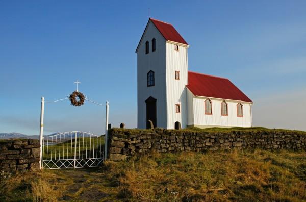 Kapelle am Thingvellirsee