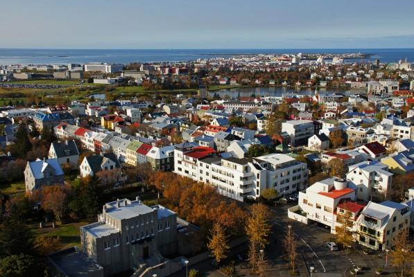 Reykjavik im Herbst
