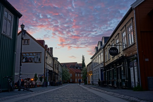 Trondheim am längsten Tag des Jahres