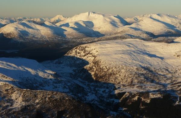 Abendlicht über dem Sognefjord