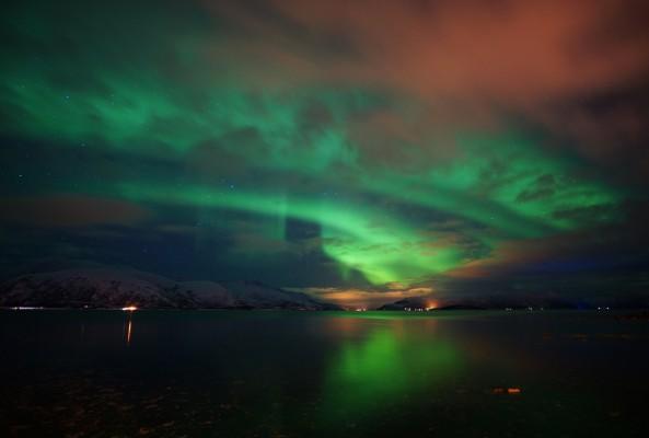 Wolken und Aurora 2