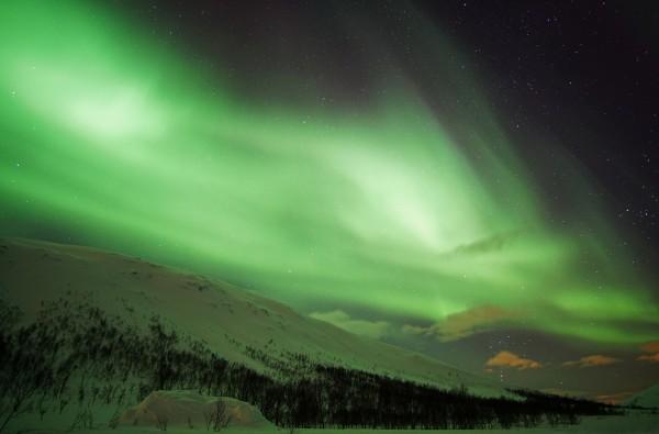 Leuchtender Himmel