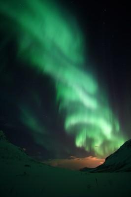 Schicht-Polarlicht