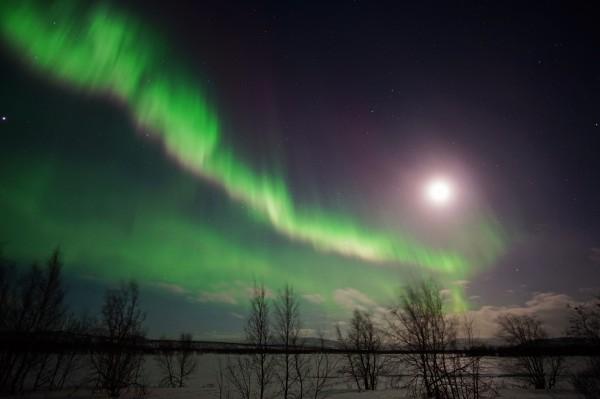 Mondlicht vs. Polarlicht 2