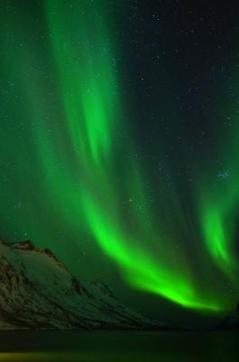Leuchtender Ersfjord