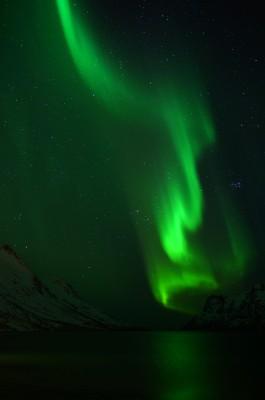 Polarlicht bei Neumond