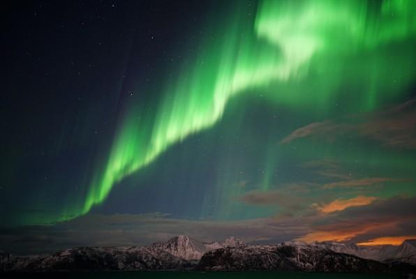 Kraft des Polarlichts