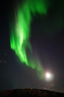 Mondlicht vs. Polarlicht