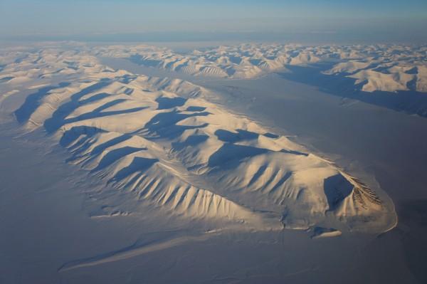 Spitzbergen quer übers Land