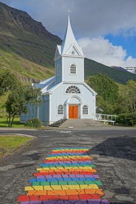 Kirche von Seydisfjördur