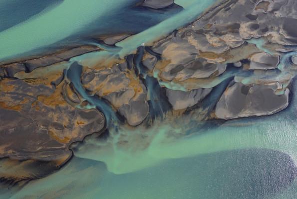 Flussschleife auf isländisch