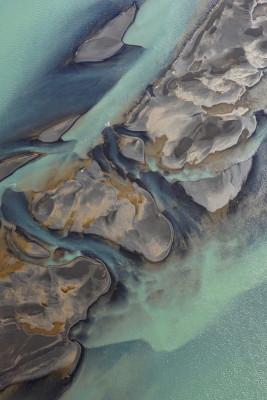 Abstrakte Kunstwerke der Natur