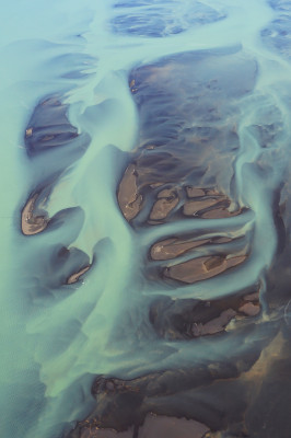 Farben der Gletscher