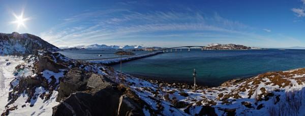 Blick nach Sommarøy