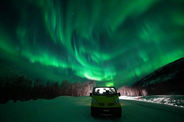 Polarlichtbus