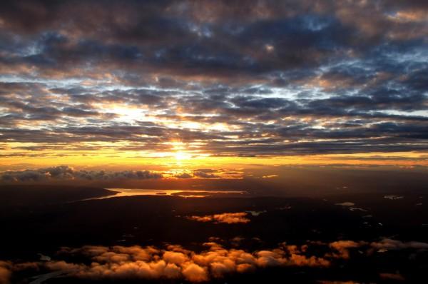 Sonnenuntergang am Oslofjord