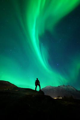 Der einsame Polarlichtjäger
